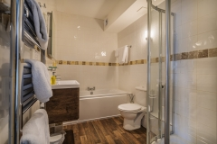 Deluxe Double Bathroom at The White Hart Hotel, Eatery and Coffee House, Boston