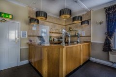 The Bar in The Boston Suite, at The White Hart Hotel, Eatery and Coffee House, Boston