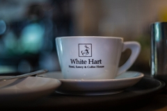 Coffee Cup at The White Hart Hotel, Eatery and Coffee House, Boston