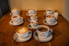 Coffee Selection at The White Hart Hotel, Eatery and Coffee House, Boston