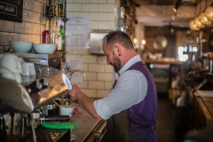 Drink Making at The White Hart Hotel, Eatery and Coffee House, Boston