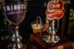 Pint of Batemans at The White Hart Hotel, Eatery and Coffee House, Boston