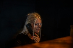 Receptionist on the Phone at The White Hart Hotel, Eatery and Coffee House, Boston