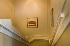 Stairs at The White Hart Hotel, Eatery and Coffee House, Boston