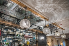 Bar Lights at The White Hart Hotel, Eatery and Coffee House, Boston
