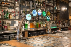 Bar Pumps at The White Hart Hotel, Eatery and Coffee House, Boston