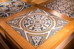 Bar Tiles at The White Hart Hotel, Eatery and Coffee House, Boston