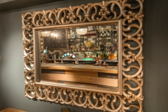 Mirror at The White Hart Hotel, Eatery and Coffee House, Boston