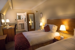 Twin Bedroom at The White Hart Hotel, Eatery and Coffee House, Boston
