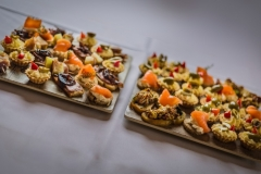 Wedding Canapes at The White Hart Hotel, Eatery and Coffee House, Boston