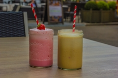 Fruit Smoothie at The White Hart Hotel, Eatery and Coffee House, Boston