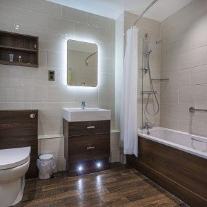 Classic Twin Bathroom